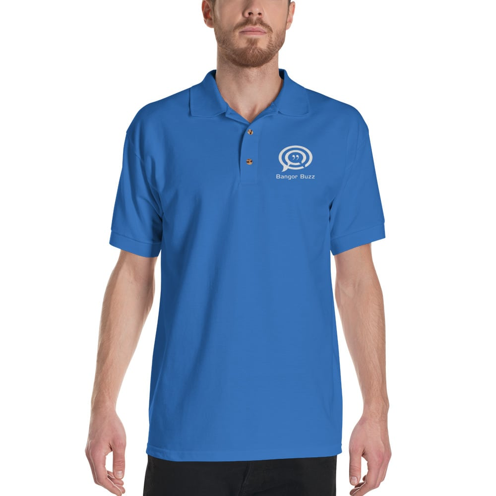 Bangor Buzz Embroidered Polo Shirt